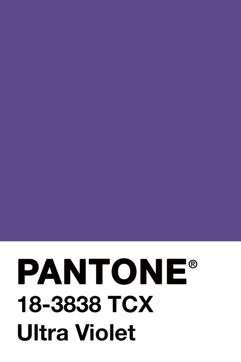 decoracion pantone ultra violet